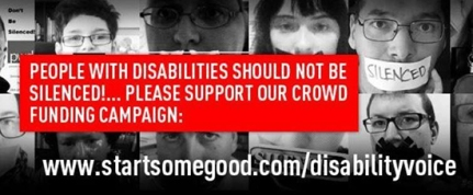 A campaign is under way to crowdfund a new advocacy journalism website by people with disabilities.