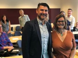 A/Prof. Rob Gorkin & Dr Lyn Phillipson